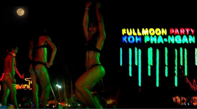 Full Moon Party at Koh Phangan