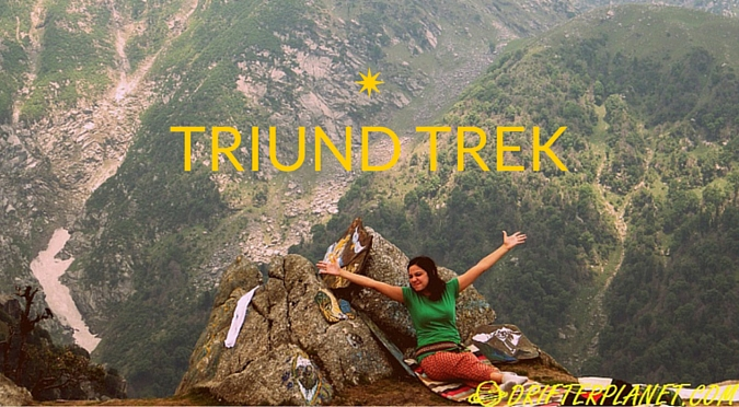 Triund – a little trek in the Himalayas