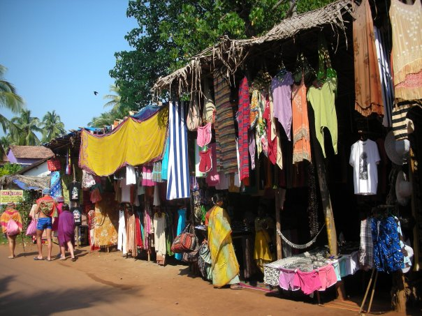 Arambol's Shopping Street - North Goa