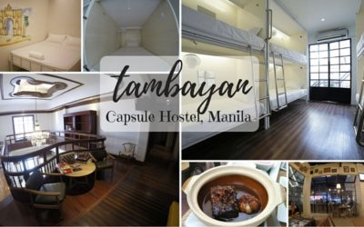 Tambayan Capsule Hostel, Manila – A Love Affair to Remember!