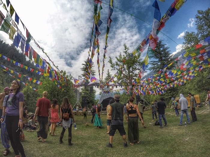 A Psytrance Festival in Old Manali (Dance of Shiva)
