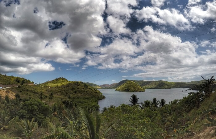 Viewpoint on Coron - Busuanga road