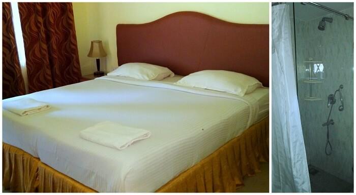 Cochichos Resort Room and Toilet