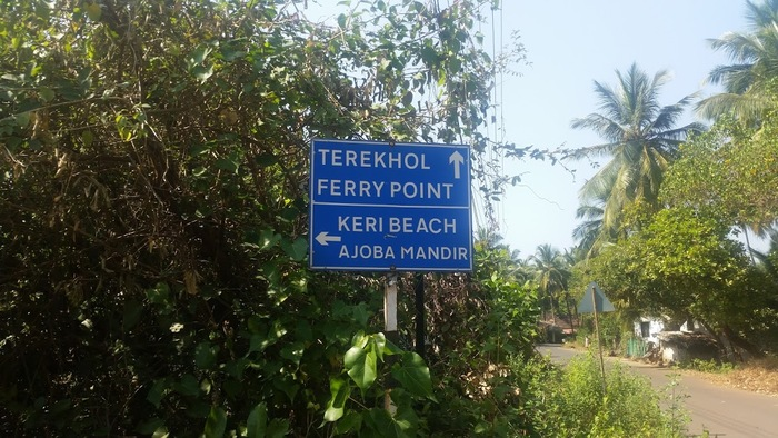 On the way to Keri beach and Terekhol fort
