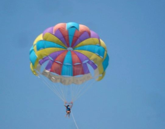 Parasailing on Calangute Beach - North Goa Beaches