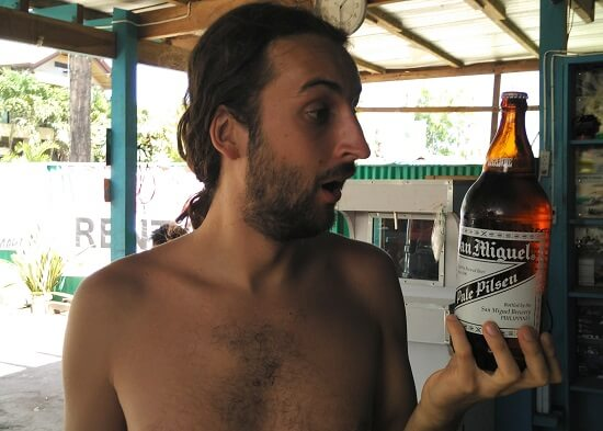 Drinking in the Philippines: San Miguel Pale Pilsen beer