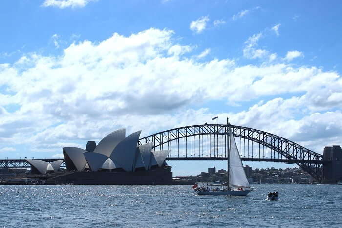 View from Mrs Mcquaries Point of Sydney Harbour