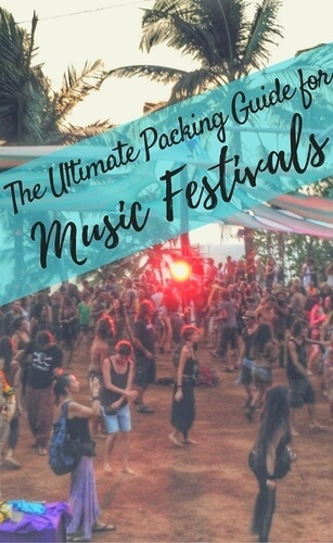 The ultimate packing guide for music festivals pin small