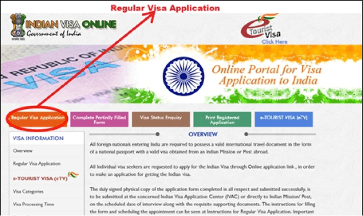 How to Apply for Indian Tourist Visa from Germany via post