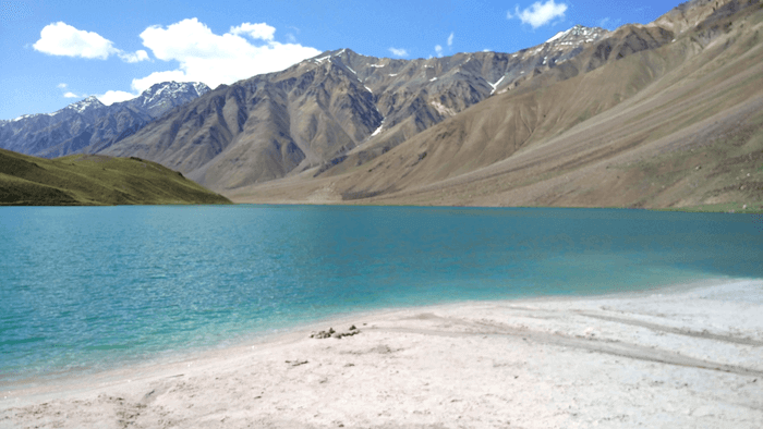 Chandra Taal Lake in Spiti - Moon Lake