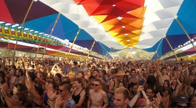 Energy on the dance floor at Boom Festival 2016