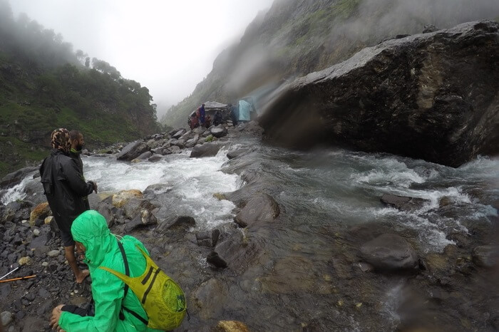 Hampta Pass Day 2 - Rain