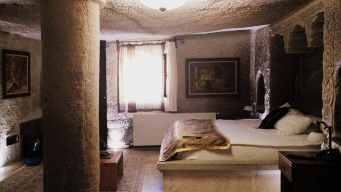 My Cave room at Ottoman Cave Suites, Goreme, Cappadocia