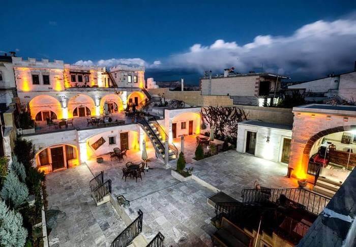 Ottoman Cave Suites, Goreme, Reception