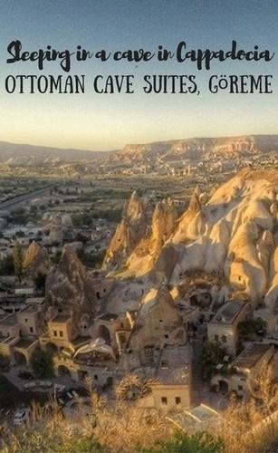 Sleeping in a Cave in Cappadocia - Ottoman Cave Suites, Göreme
