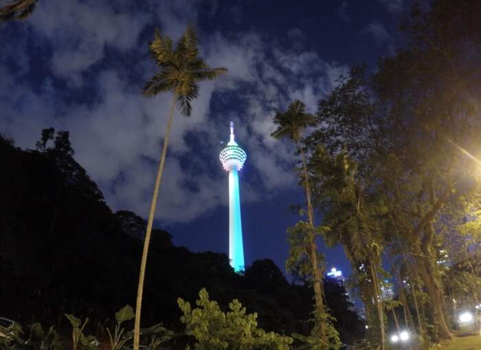 The view of KL Tower - One Day in Kuala Lumpur - things to do