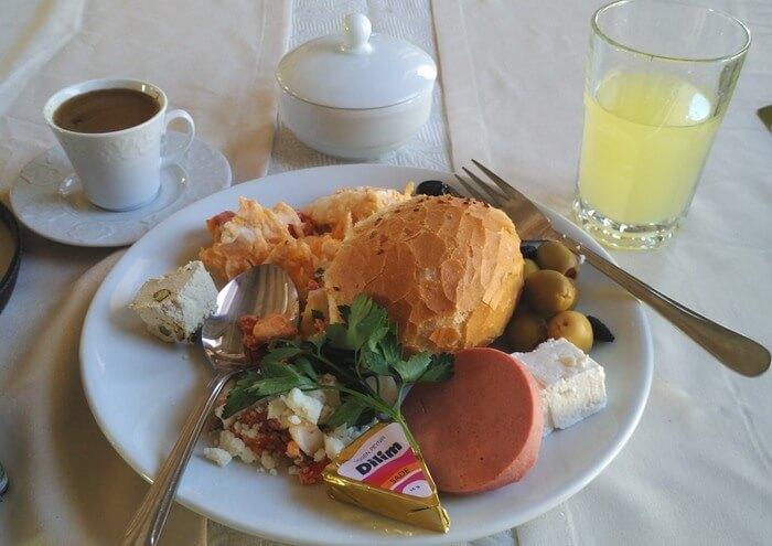 Turkish Breakfast at Ottoman Cave Suites