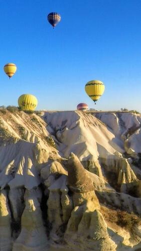 An Unbelievably Stunning Hot Air Balloon Ride in Cappadocia, Turkey