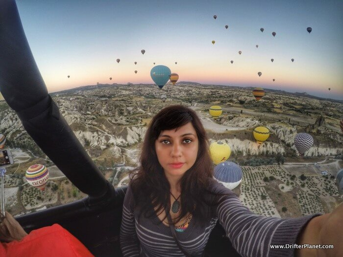 That one time I flew over Mars - Hot Air Balloon Ride in Cappadocia, Turkey