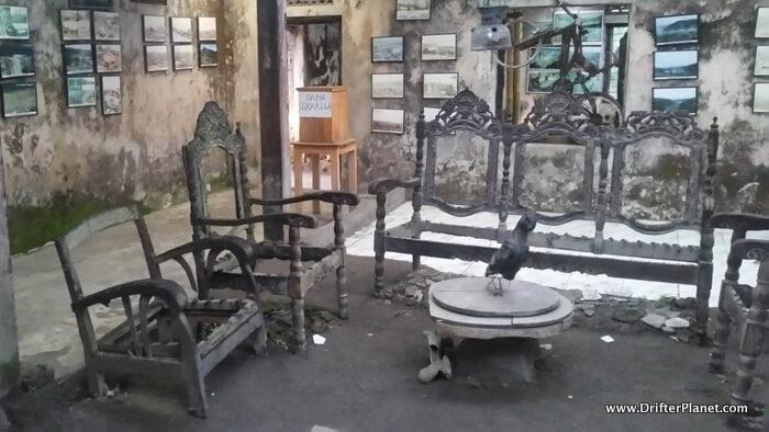 Museum Sisa Hartaku near Mount Merapi