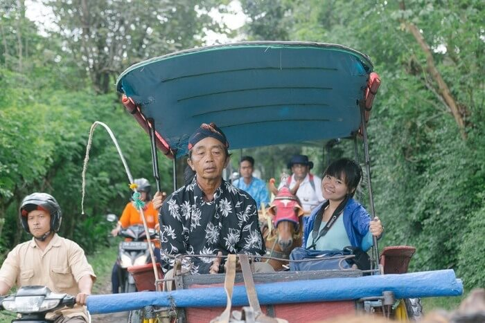 Andong Ride to Klipoh village, Yogyakarta - Photo by Bressiona Chastity