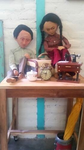 The famous paper puppets of Jogja - papermoon Puppets, Yogyakarta
