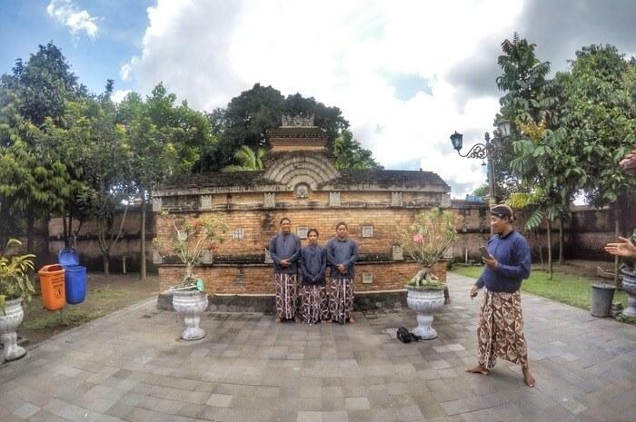 Walking around in Kotagede, Yogyakarta