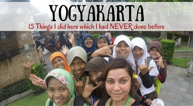 Yogyakarta – 13 Things I did here which I had NEVER done before