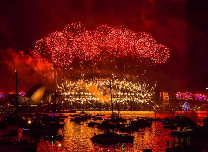 Watch a Firework Show or Attend a NYE Music Festival in Sydney, Australia