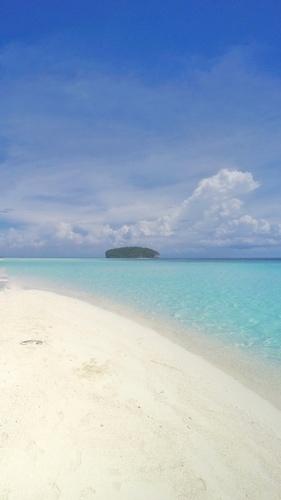 Pasir Timbul - Raja Ampat, Indonesia