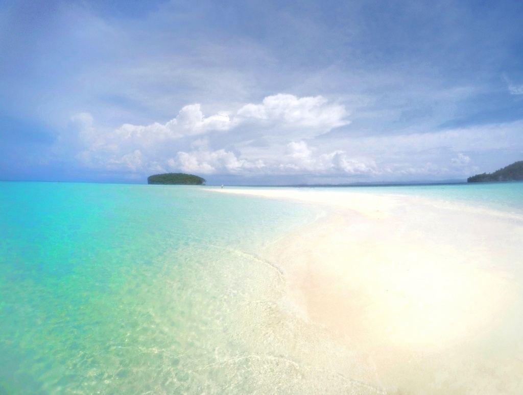 Just look at that water! - Pasir Timbal, Raja Ampat, Indonesia