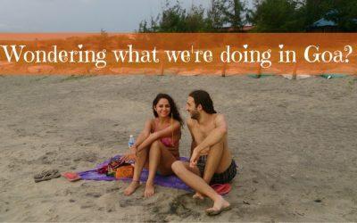 Wondering what we're doing in Goa?