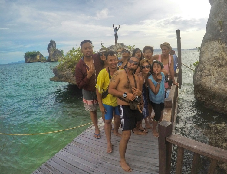 My Indonesian Travel Buddies at Kabui Bay - Raja Ampat Travel Guide