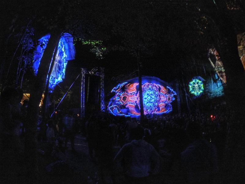 MoDem Festival Main Stage - Psytrance Festivals 2017