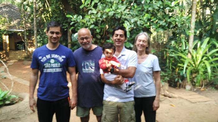Adorable Family at Dudhsagar Plantation Farmstay
