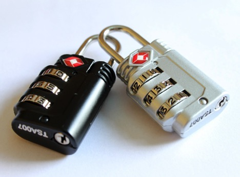 Padlocks - 8 Useful Gadgets for Traveling
