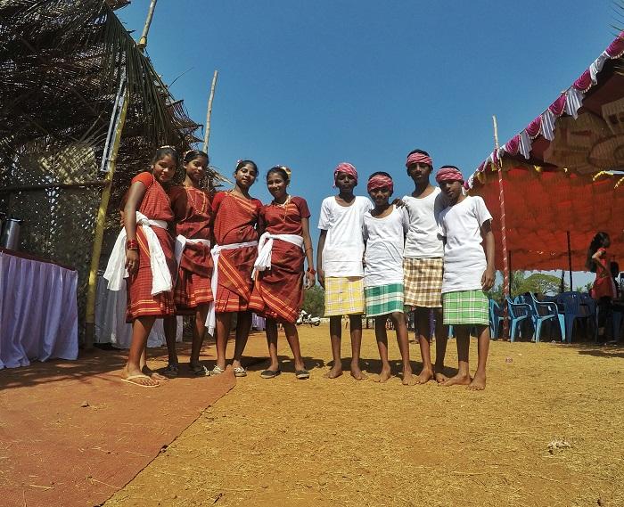 Beautiful Children at Goa Tribal Festival